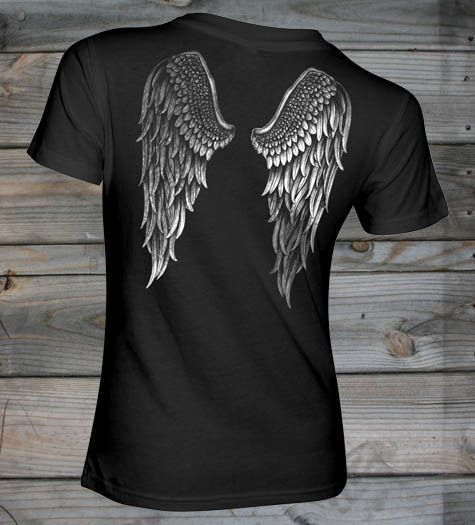 Country Girl Store - Women's Country Girl � Angel Wings Fashion Fit tee, $21.95 (http://www.countrygirlstore.com/womens/short-sleeve/country-girl-angel-wings-fashion-fit-t-shirt/)