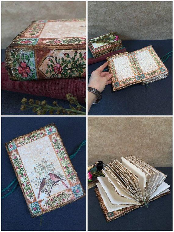 Aquarel kunstenaar Journal met koud geperst handgeschept