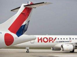 Ahora vas y lo caskas: HOP huelga! Air France: 80% de los asegurados MC j...