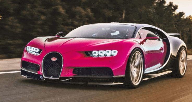 Bugatti veyron super sport pink