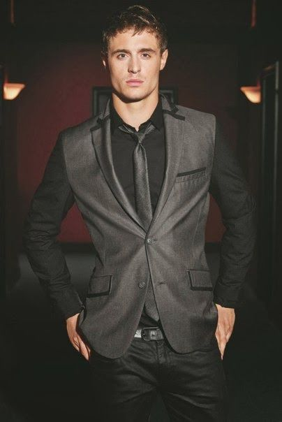English actor Max Irons is 6 ft 2 in or 188 cm...