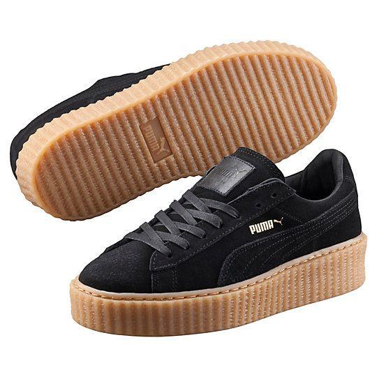 Puma Rihanna Shoes Burgundy