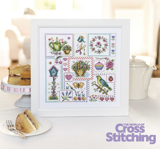 A perfect contemporary sampler project, with lots of scope for individual mini makes too… #stitch cards, gifts and more! We're stitching this project as our first-ever Virtual Stitch-A-Long #VSAL too. So join us with this design for stitchers of all abilities, in the new issue, 219, of The World of Cross Stitching magazine. Design by #SusanBates