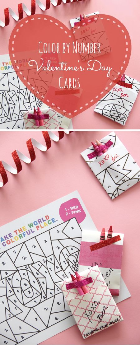 The 25+ best DIY Valentine\'s day cards for classmates ideas on ...