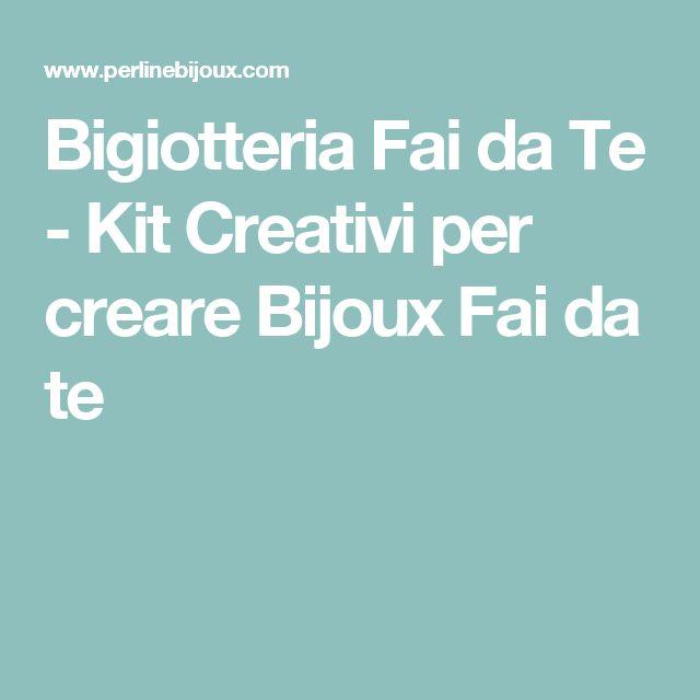Bigiotteria Fai da Te - Kit Creativi per creare Bijoux Fai da te