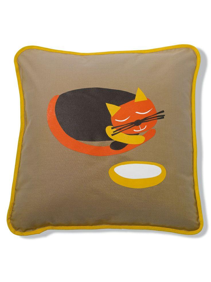 Miau / cushion / lavmi