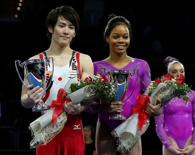 2012 Olympic all-around champion Gabby Douglas won the 2016 American Cup, with teammate Maggie Nichols placing second. On the men's side, it came down to the final event between Donnell Whittenburg and Ryohei Kato. Here's the results, links to watch, and more.