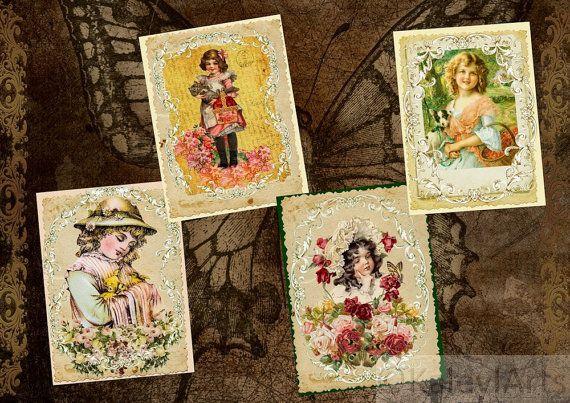ber ideen zu vintage postkarten auf pinterest vintage bilder altes papier und vintage. Black Bedroom Furniture Sets. Home Design Ideas