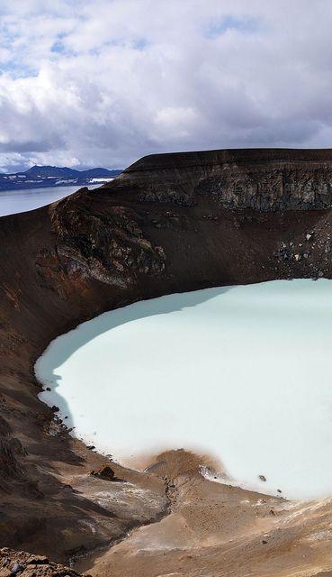 Cráter de #Islandia #Iceland