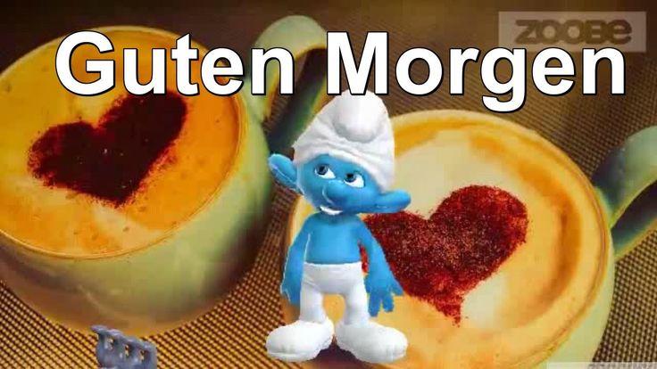 Mein Schatz.. Guten Morgen  ♥♥ Schlumpf & Schlumpfine - Smurf & Smurfett...