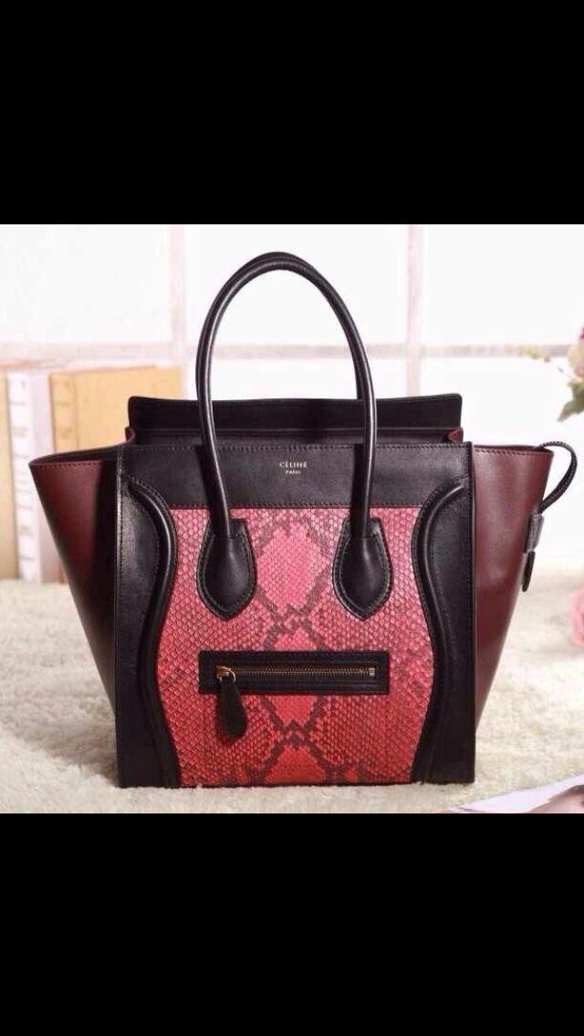 Celine exotic leathers | My bag heaven | Pinterest