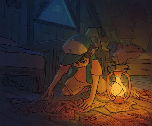 "Gravity Falls Dipper...""What's this leading to...?"""