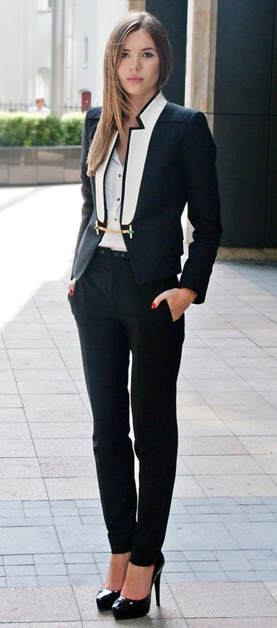 Tuxedo Look - Madame Keke fashion & Style Blog