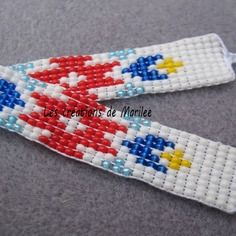 Bracelet à nouer style indien navajo 56