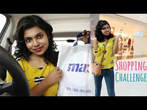 1000 Rs Shopping Challenge - Max Store Shopping Haul. This video is all about the Max Store Shopping Challenge in a Mall, at max store for just Rs 1000. Shopping challenges are quite fun also are shopping hauls and I hope you enjoy this max lifestyle haul video. It is a quick short Max shopping haul I filmed