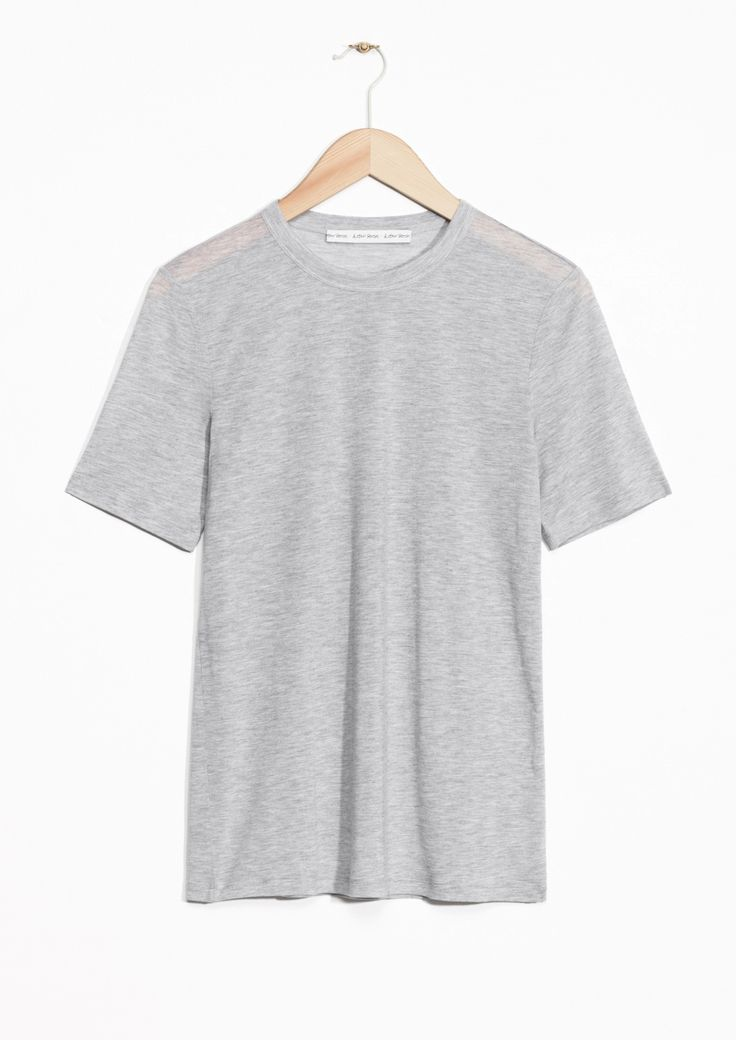 & Other Stories | Lightweight Tencel T-Shirt