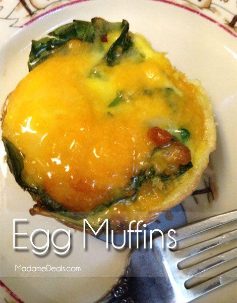 Egg Recipes for Kids: Egg Muffins