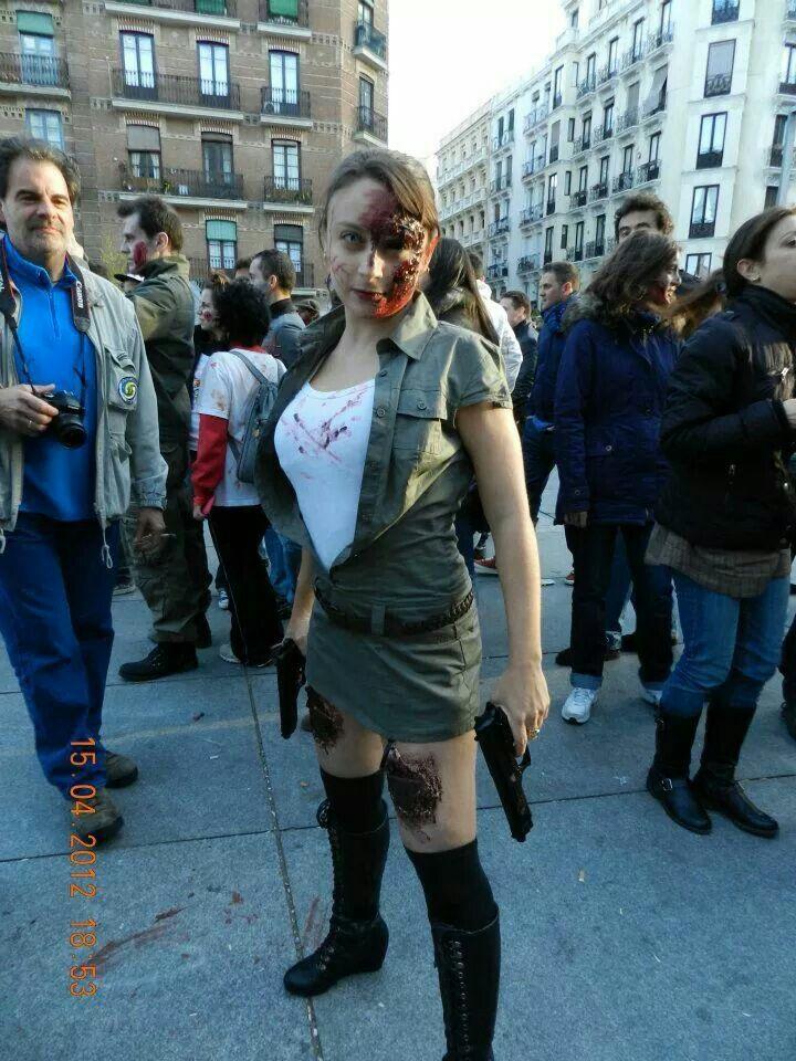 Vero marcha zombie madrid