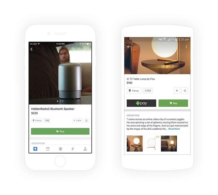 Fancy Andriod App. eCommerce Mobile App Development | CognitiveClouds Portfolio