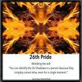 26 Pride, (Shadow)
