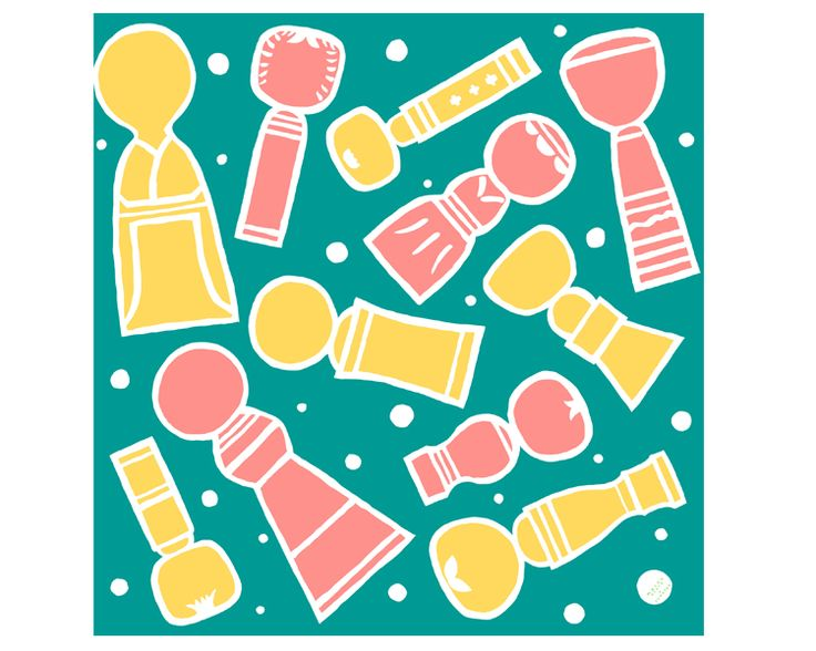 Kokeshi doll -Kokeshiki- Blue Furoshiki  #Japan #Japanese #Furoshiki #Tohoku #Kokeshi #Japanesedoll #Kokeshidoll #Traditional #Japaneseculture #Green #Illustration #art #Kawaii #Gift #Wrappingcloth #Cloth #Scarf #Wrap