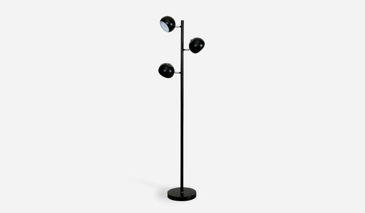 I saw this and fell in love. Lex Floor Lamp, Black by Castlery.