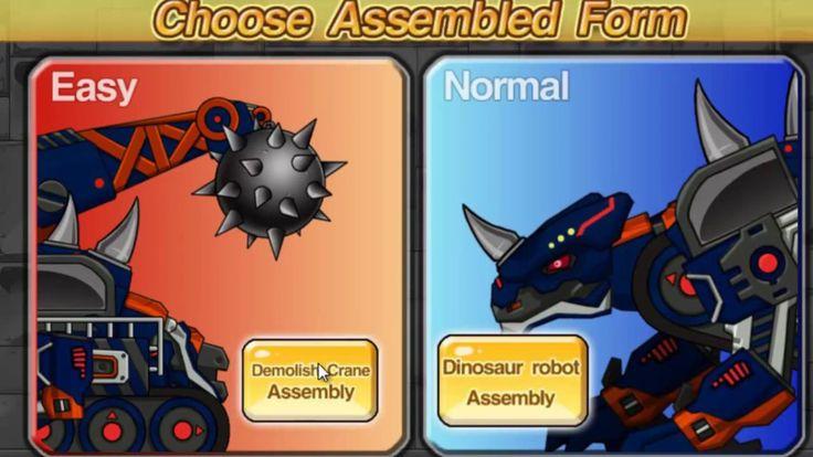 Dinosaur-Robot-Racing cars_All series_multiples for children