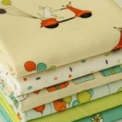 FQ Bundle Cottons: Just For Fun, 6 Fabrics