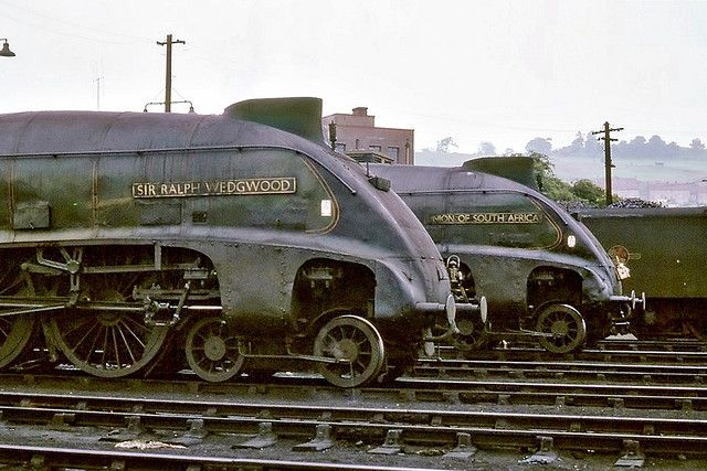R0232 - Perth Shed LNER A4 pacifics nos. 60006 and 60009 18th July 1965 R0232 - Perth Shed | par BarkingBill