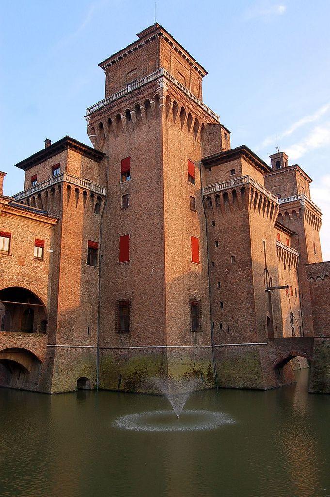 Estense castle - Ferrara, Emilia Romagna, Italy