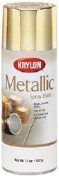 Amazon.com: Krylon Metallic Spray Brass   Gold Leaf