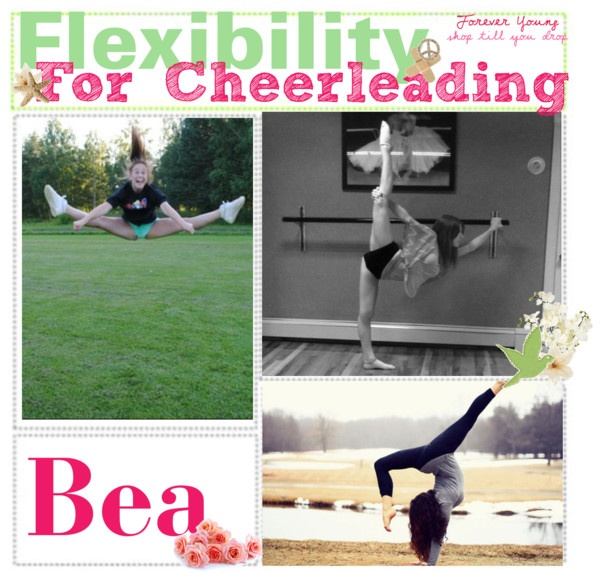 """[Cheerleading Tip One] Flexibility Routine(:"" by polyvoretipteam ❤ liked on Polyvore"