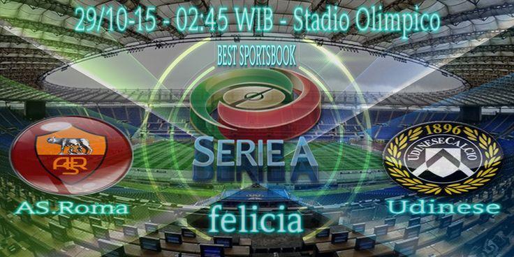 By : Felicia | ITALIA SERIE A | AS Roma vs Udinese | Gmail : ag.dewibet@gmail.com YM : ag.dewibet@yahoo.com Line : dewibola88 BB : 2B261360 Path : dewibola88 Wechat : dewi_bet Instagram : dewibola88 Pinterest : dewibola88 Twitter : dewibola88 WhatsApp : dewibola88 Google+ : DEWIBET BBM Channel : C002DE376 Flickr : felicia.lim Tumblr : felicia.lim Facebook : dewibola88