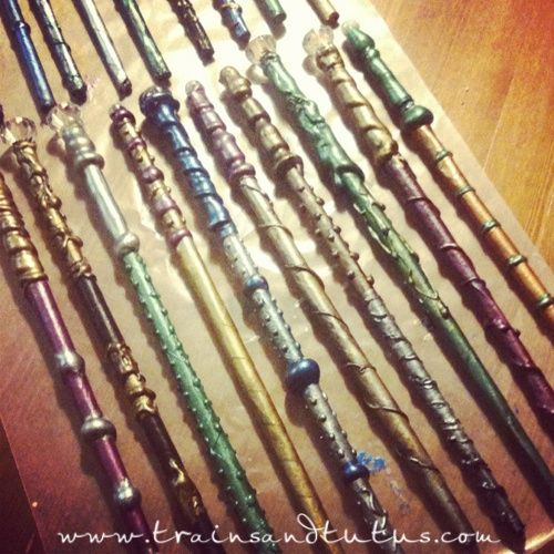 Diy wands diy wands diy wands rings headpieces and for Wizard wand