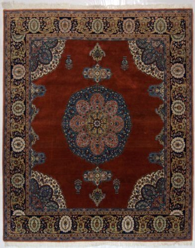 IT-1151-Tappeto Tabriz Disegno Haji Jalili Extra Fine 300x250 Cm-GalleriaFarah1970 Tabriz ( Galleria Farah1970 ) http://www.amazon.it/dp/B00BVYDX94/ref=cm_sw_r_pi_dp_iOMjub0KRY10A