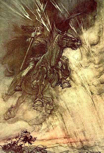 Odin - Mitologia Nórdica