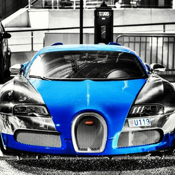 Epic shot of a Bugatti Veyron. Click for more photos like this