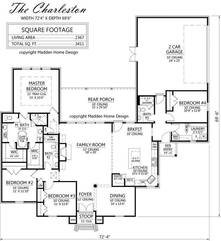 Madden Home Design - The Charleston