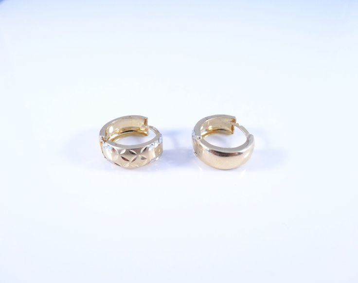 $175 14K Gold Earrings, info@bijuterie-online.ro.