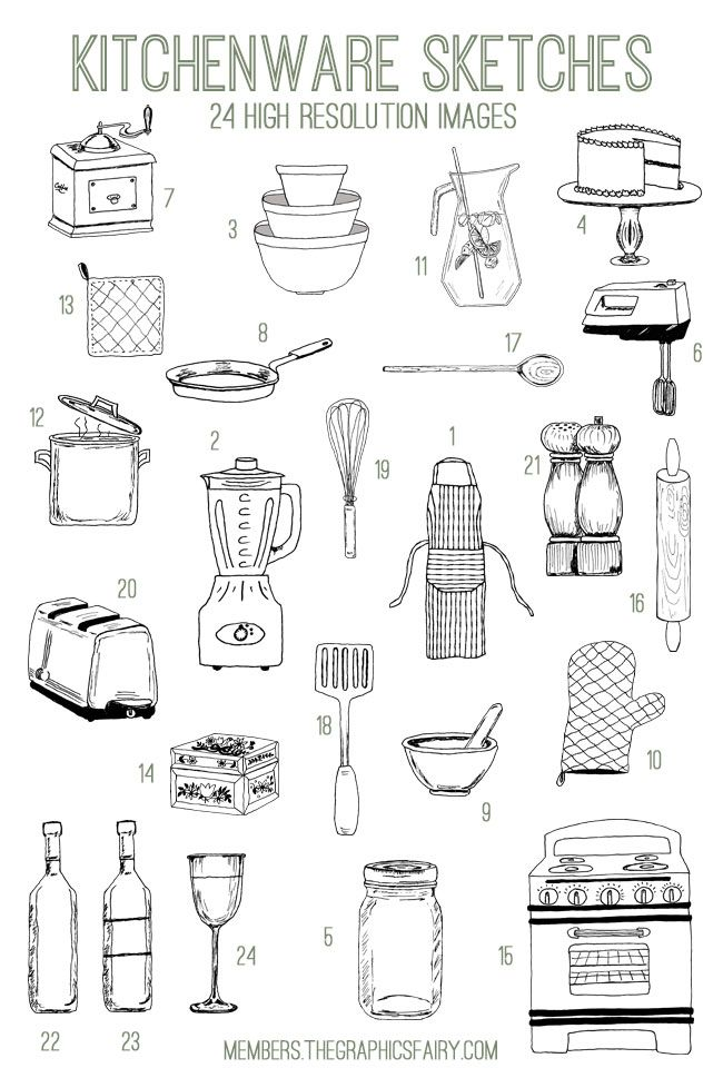 Emily and I have added another Fabulous Bundle to our site The Graphics Fairy Premium Membership!! This week's Bundle is an Adorable Kitchenware Doodles Kit! This Bundle includes: 24 high resolution images (.png) 24 high resolution vectors (.ai, .eps, .svg) 1 set of Photoshop brushes (.abr) 6 printables (2 round labels, recipe card, 3″x4″ blank …