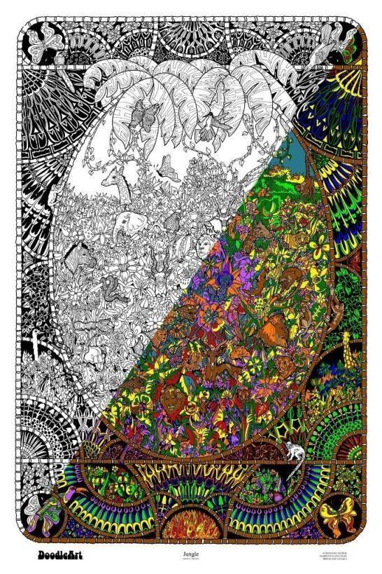 DoodleArt ~ Jungle