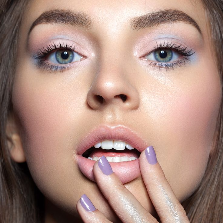 Watercolors - Inspired by Pantone color of the year Rose Quartz & Serenity  Makeup by Elizabethulloa  Photo by Julia Kuzmenko