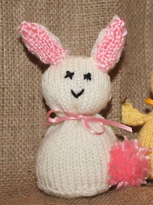 Easter Bunny Knitting Pattern : Knit an Easter bunny: free knitting pattern Knitting Pinterest Toys, Pa...