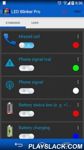 LED Blinker Notifications Lite  Android App - playslack.com ,  Let LED Blinker Notifications (formerly LEDBlinker) show your missed calls, SMS, Facebook and Whatsapp messages. If you have no hardware led, the screen is used.Only some applications are supported by the lite version, see advantages of the full version below!All apps are supported in the full version, click on the plus button on the top and add the missing.Its possible to remove the ADS (see the button at the top or at menu) but…