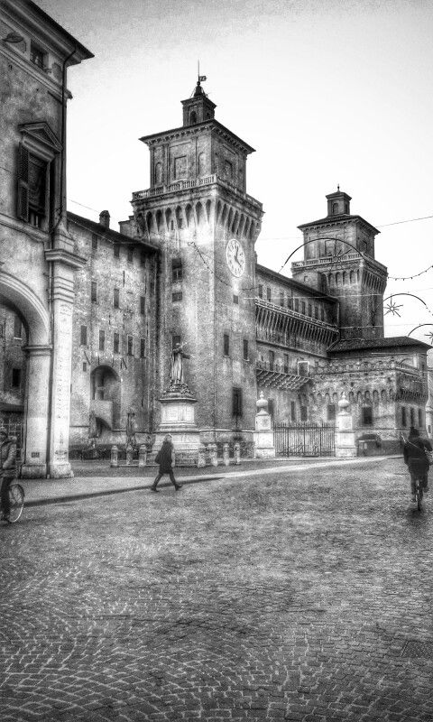 Castello Estense Ferrara ...