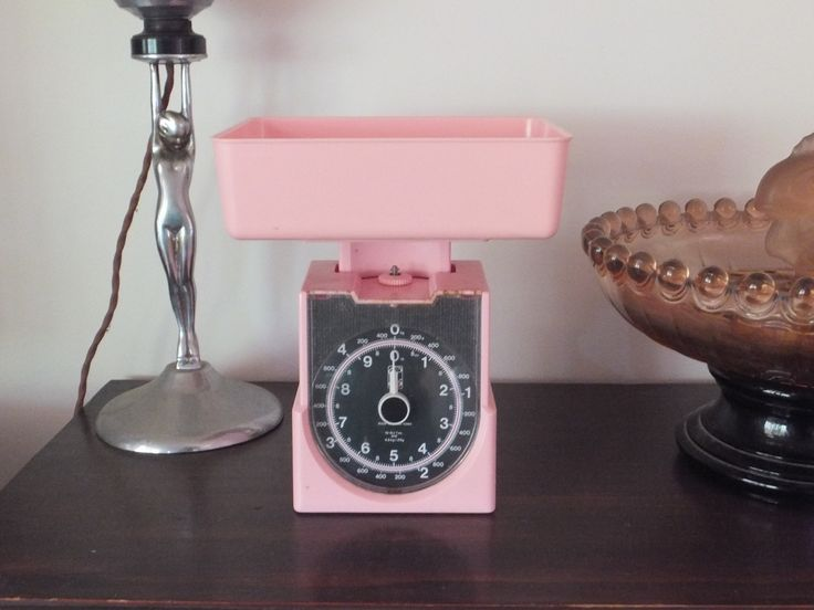 Retro pink scales. Selling on All Things Fine and Fanciful on FB.