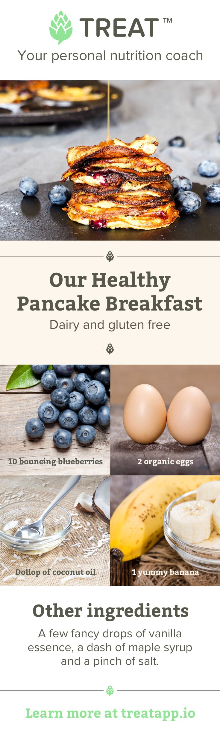 Everyone loves pancakes, and banana pancakes with blueberries are even better!