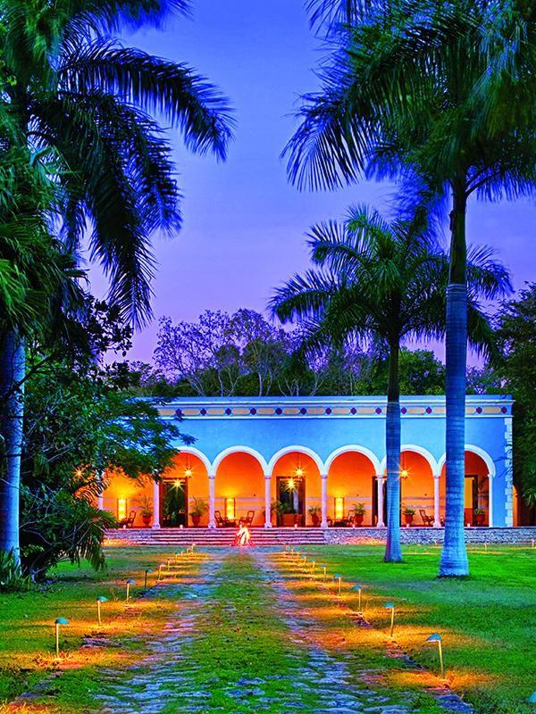 Hacienda Uayamon.  Estado: Campeche, México.