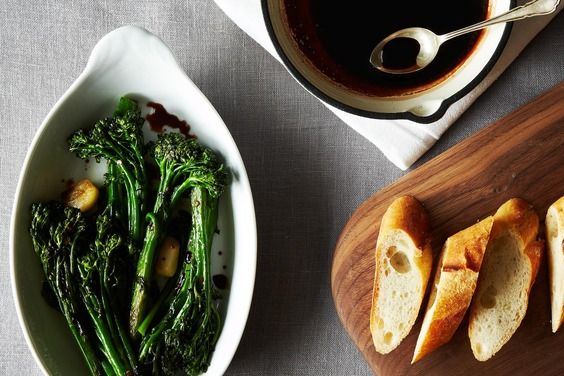 Rapini with Vin Cotto, a recipe on Food52