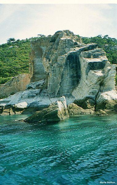 Coastal cliff in Foça, Turkey #turkey #holiday #europa #asia